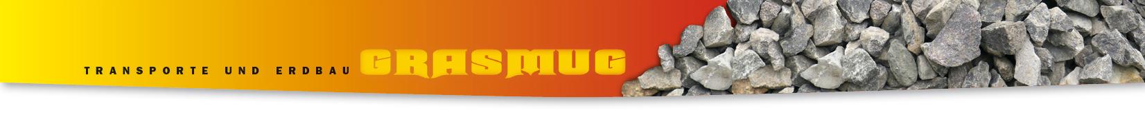 Logo Transporte und Erdbau Grasmug