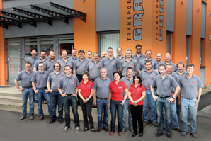 Mitarbeiter der Firma Grasmug Erdtransporte